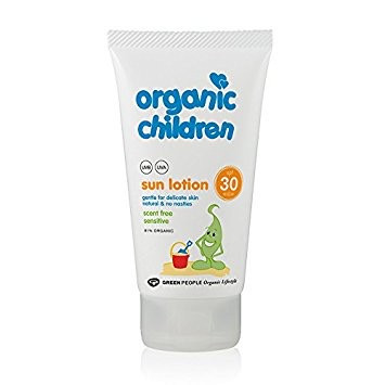 Økologisk børne solcreme SPF 30 - GreenPeople