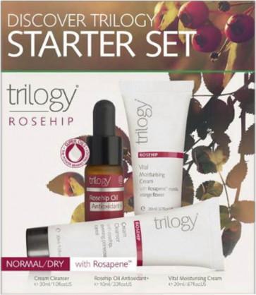 Trilogy Starter Set - Rosehip (Normal / Dry Skin)