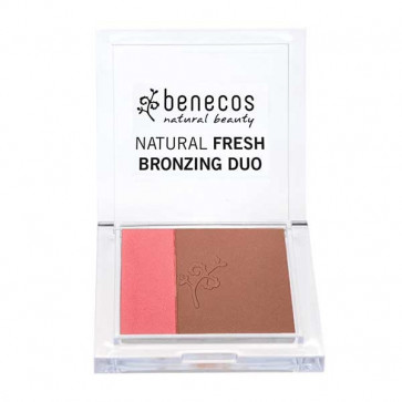 benecos Fresh Bronzing Duo - California Nights (Økologisk)