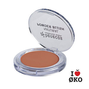 benecos Økologisk Compact Blush - Toasted Toffee