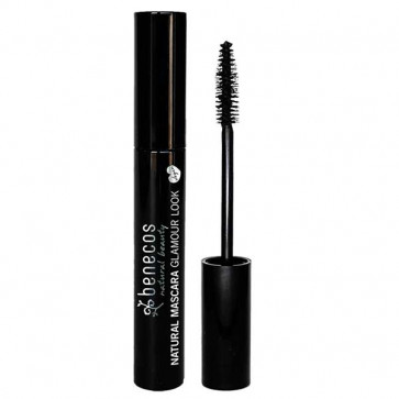 benecos Natural Mascara - Glamour Look - Ultimate Black -Vegansk