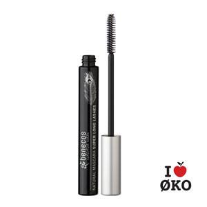 benecos Økologisk Super Long Mascara - Carbon Black