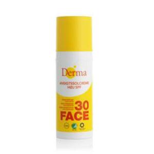 Derma Ansigtssolcreme SPF 30