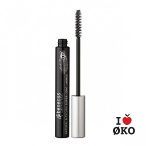 benecos Økologisk Super Long Mascara - Carbon Black
