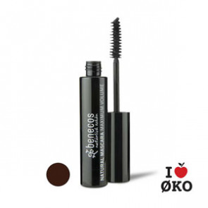 benecos Økologisk Maximum Volume Mascara - Smooth Brown