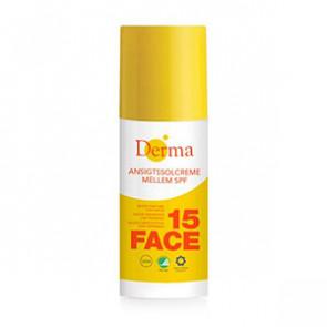 Derma Ansigtssolcreme SPF 15