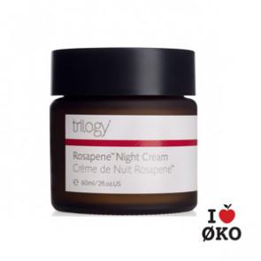 Trilogy Økologisk Rosapene Night Cream