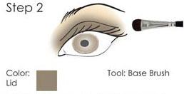Smokey Eye guide - step 2