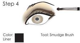 Smokey Eye guide - step 4