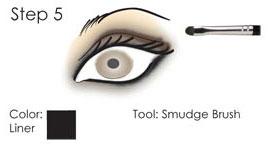 Smokey Eye guide - step 5